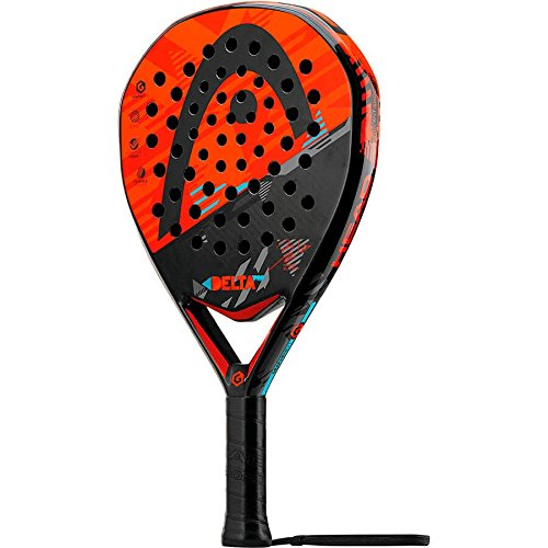 Head - Racchetta da Paddle Delta PRO Colore Rosso/Arancio/Grigio/Blu