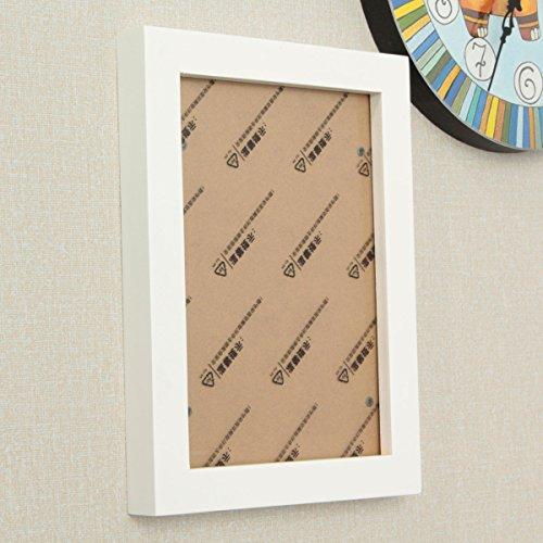 Bluelover 8 inch hangende fotolijst hout fotolijst foto muur decoratie hanger type wandlijst