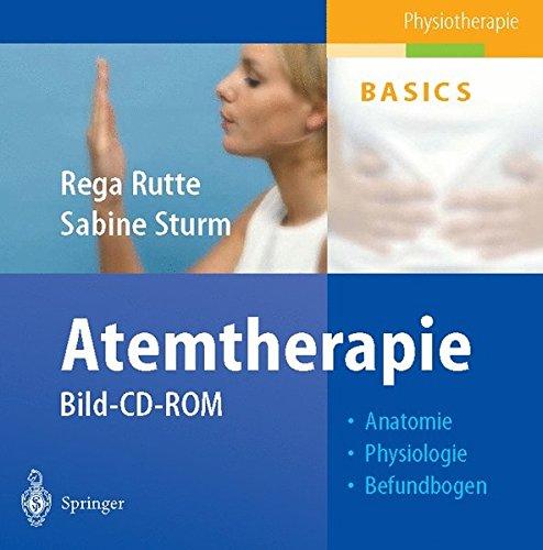 Atemtherapie. CD-ROM für Windows ab 3.1/MacOS 7.0. Bild-CD-ROM: Anatomie, Physiologie, Befundbogen.