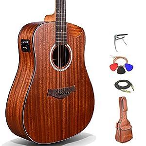 Kadence Slowhand Series Premium Electric Mahogany body Guitar 2