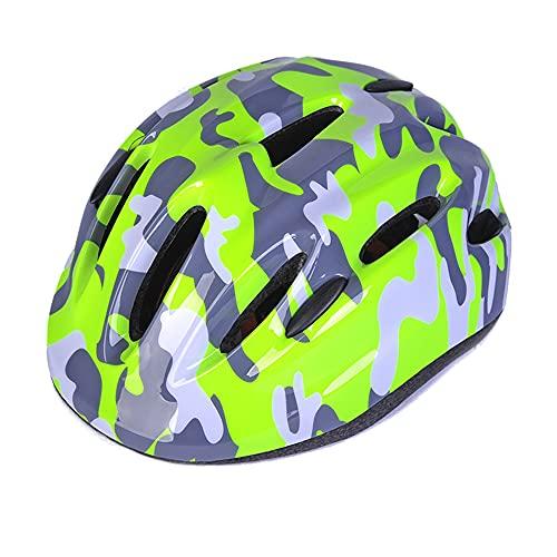 Feicuan Kinderhelm für Fahrrad Skateboard - Fahrradhelm 53-58 cm Verstellbares Stirnband für Radfahren Roller Empfohlen im Alter von 6-15 Jahren Jungen Mädchen