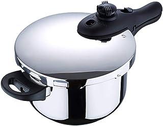 Chef Sauce 22 cm Olla a presión de Acero Inoxidable, 6 l, Plateado, 6 litros