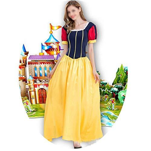 GZ Sneeuwwitje jurk prinses kostuum Halloween / kerstbal jurk up sprookje voor volwassenen