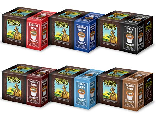 Cafe Don Pedro - 72 ct. Variety Pack Arabica Low Acid Coffee Pods