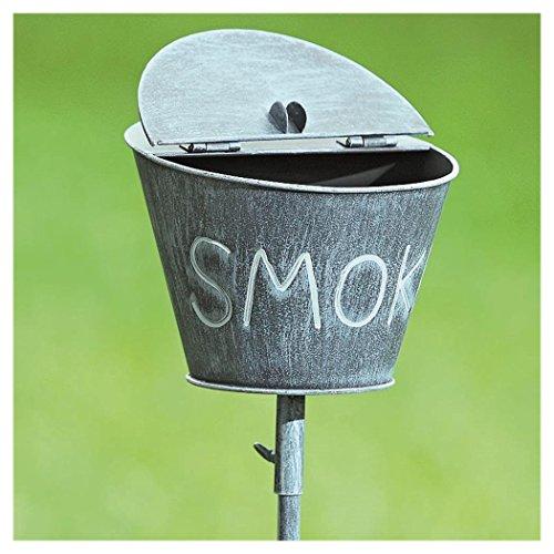 Boltze Gartenstab m/Aschenbecher H110 Eisen lackiert