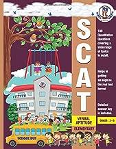 SCAT Verbal Aptitude: SCAT- Elementary - Verbal Aptitude