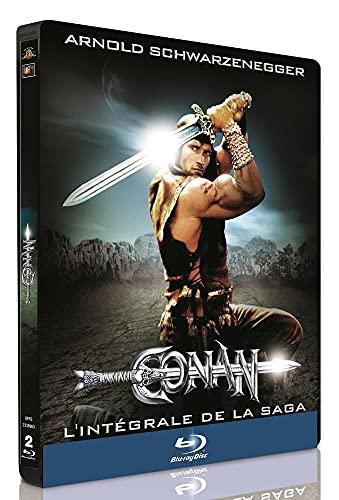 Conan der Barbar + Conan der Zerstörer Limitiertes Steelbook [Blu-ray] [EU Import mit deutscher Sprache]