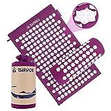 TUYOI Acupressure Mat Set Accupressure Body mat for Pain...