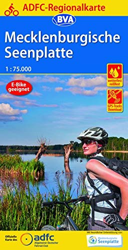 Download Ebook ADFC-Regionalkarte Mecklenburgische Seenplatte 1:75.000, Reiß- Und Wetterfest, GPS-Tracks Download (ADFC-Regionalkarte 1:7...