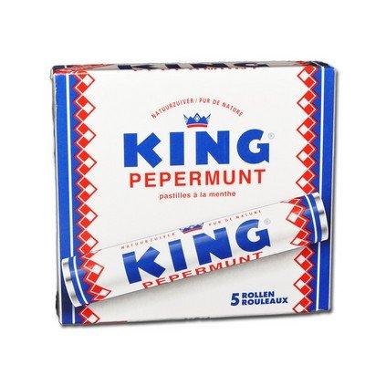 King Pepermunt Original Pfefferminze 5 Rollen x 44g I € 3,63 pro 100g I Original hollandse pepermunt