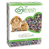 carefresh 99% Dust-Free Confetti Natural Paper Small Pet Bedding with Odor Control, 50 L