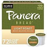 Panera Light Roast, Keurig Single Serve Coffee K-Cup Pods, 72 Count