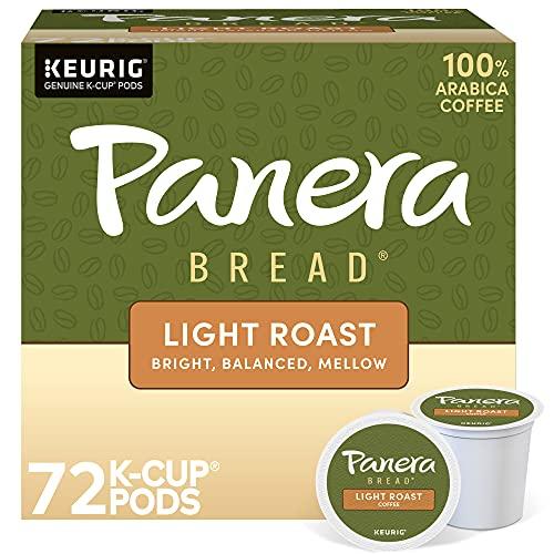 Panera Bread Light Roast, Keurig Single Serve Coffee K-Cup Pods, 72 Count