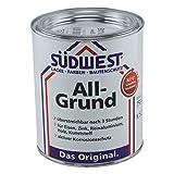 Südwest All-Grund Farbe Silbergrau 7001 Universal-Grundierung 750ml