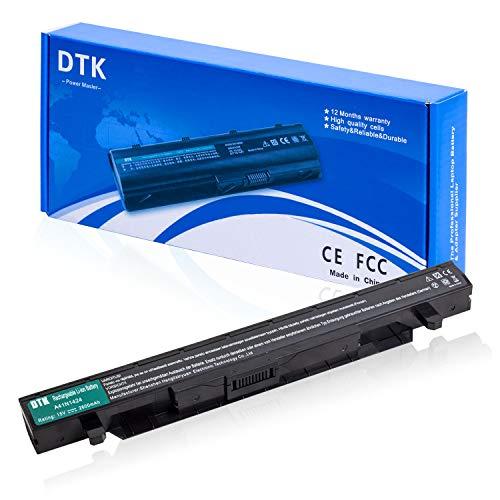 DTK A41N1424 Batería para ASUS ROG GL552 GL552J GL552JX GL552V G552VL GL552VW GL552VX ZX50 ZX50J ZX50JX ZX50VW FX-Plus Baterías portátiles y netbooks, 15V 2600mAh