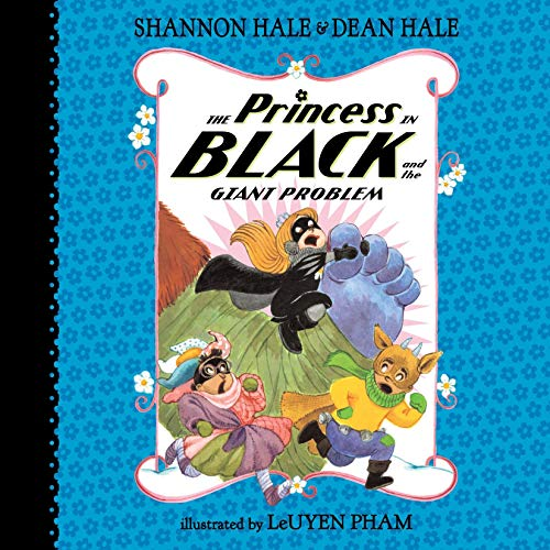 The Princess in Black and the Giant Problem audiobook cover art