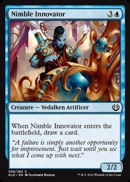 Magic The Gathering Nimble Innovator - Abila innovadora - Kaladesh