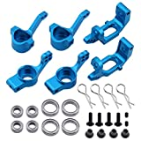 steering knuckle tornado epx - Hobbypark 102210 102010 102211 102011 102212 102012 Aluminum Steering Knuckle Kit Hub Carrier Upgrade Parts for RC Redcat Volcano EPX HSP