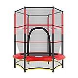 FFAN mit Netz, Haushalt Kinder Indoor Adult Gym Kind Sprungbett Sportausrüstung Bungee-Sprungbett,...