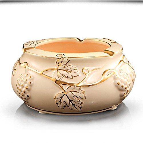 sheng Cendrier en céramique luxe personnalité pratique décoration de la maison ( taille : 20*9cm )