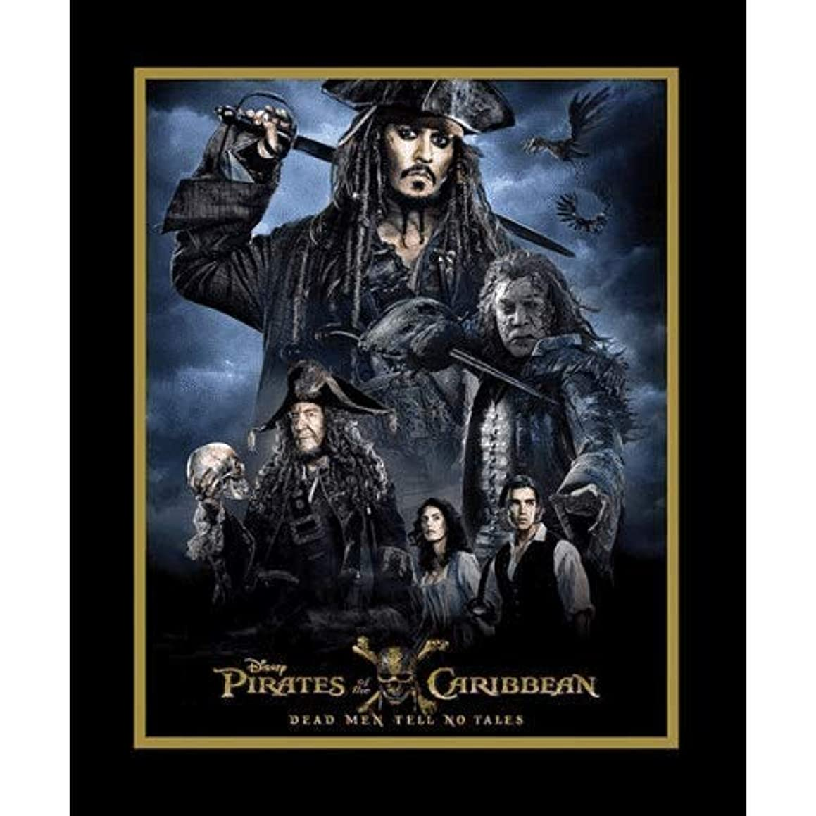 Pirates of The Caribbean Fabric Panel by Springs Creative 36