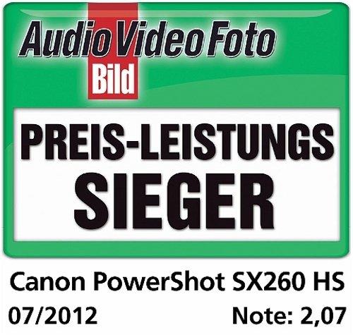 Canon POWERSHOT SX260 HS Fotocamera Compatta