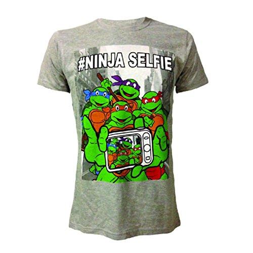 T-shirt 'Teenage Mutant Ninja Turtles' - Ninja Selfie - Taille M