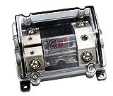 Sinustec Sicherungsverteilerblock SVB mit roter digital Voltanzeige