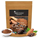 Tree Foods Company Organic Peruvian Raw Cacao Powder - 250Gm (Unsweetened & Non-Alkalised)
