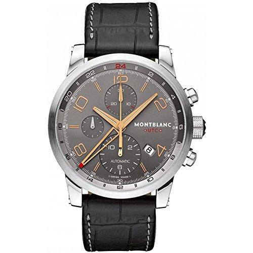 Montblanc Herren-Armbanduhr 43mm Braun Schweizer Automatik 107063