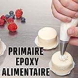 primaire pour peinture alimentaire cuve béton ou acier contenant des aliments PRIMAIRE EPOXY ALIMENTAIRE - Transparent - Kit de 1...