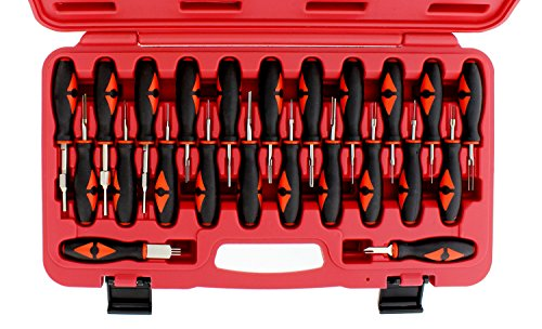 ABN Terminal Release Kit, 23-Piece – Universal Electrical Terminal Removal for American Domestic and Imported Vehicles