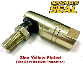HD Switch Ball Joint End Replacement for John Deere GT225, GT235, GT245, 3203 & 4105 - with M12 Female Thread - OEM Upgrade, Improved Seal
