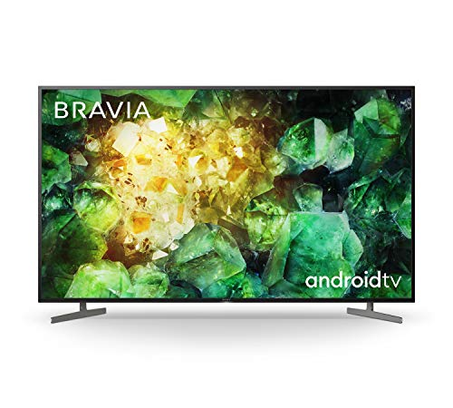 Sony BRAVIA KD55XH81 - 55-inch - LED - 4K Ultra HD - High Dynamic Range (HDR) - Smart TV (Android TV) - with Voice Remote - (Black, 2020 model)