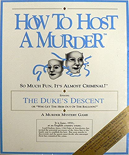 How To Host A Murder - The Duke's Descent
