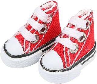 DIY-SCIENCE Mini Finger Shoes, Cute Tiny Shoes for Finger Breakdance/ Fingerboard/ Doll Miniature Shoes/ Making Sneaker Ke...