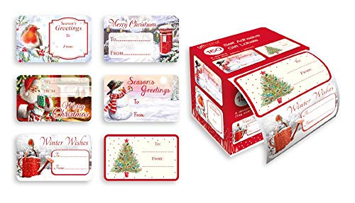 Christmas labels- How to stay organized at Christmas