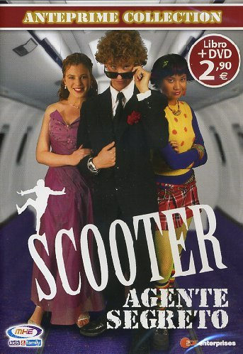 scooter - agente segreto - anteprima collection (dvd+libro) dvd Italian Import [DVD]