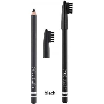 Swiss Beauty Eyebrow Pencil, Black, 1.8 g