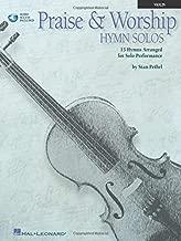 Praise & Worship Hymn Solos: Book/CD  Violin