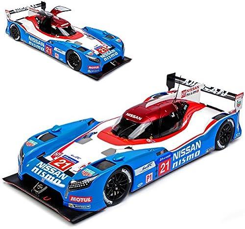 AUTOart Nissan GT-R Nismo 24H Le Mans 2015 Nr 21 Matsuda Shulzhitskiy Ordonez 81579 1 18 Modell Auto