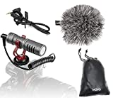 Best Movo Dslr Microphones - Movo VXR10GY Video Camera Microphone with Shock Mount Review