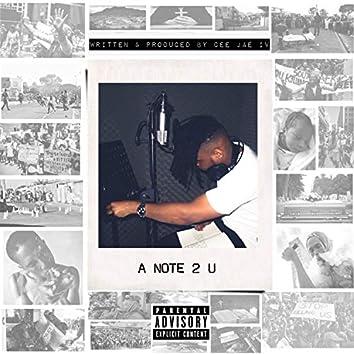 A Note 2 U