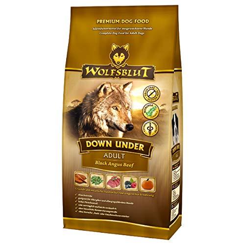 Wolfsblut | Down Under | 15 kg | Black Angus Beef | Trockenfutter | Hundefutter | Getreidefrei