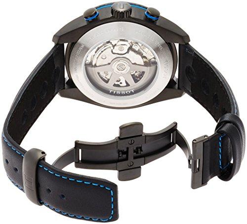 TISSOT - Montre Homme Tissot PRS 516 Automatique T1004273620100 Bracelet Cuir - T1004273620100