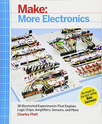 [Make: More Electronics: Journey Deep Into the World of Logic Chips, Amplifiers, Sensors, and Randomicity] [By: Charles Platt] [May, 2014]