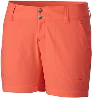 Columbia Sportswear Women's Saturday Trail Shorts, Coral Flame, 10 x 5