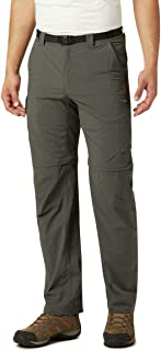 Columbia Men's Silver Ridge Convertible Trousers, Grey, 34in