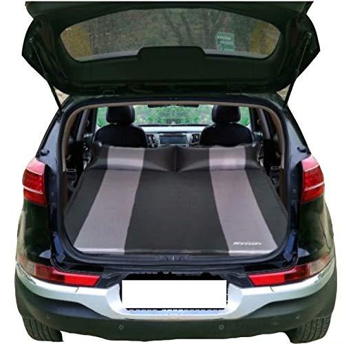 QCCQC Adatto per Mitsubishi Outlander ASX Pajero Letto Gonfiabile per Auto Pieghevole SUV Bagagliaio Cuscino da Viaggio Materasso ad Aria Materasso, Nero + Grigio, T6