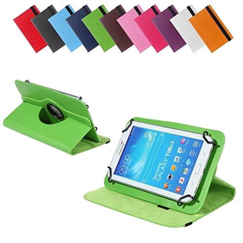 BRALEXX Universal 360° Tablet Tasche passend für lenovo A7-40, 7 Zoll, Grün